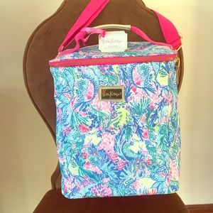 Lilly Pulitzer wine carrier, beach cooler